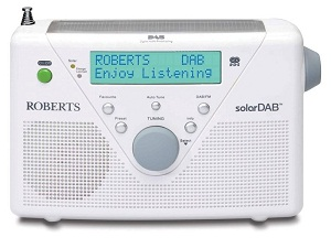 Enter our competition to win a Roberts SolarDAB radio!