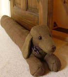 Why not make a cute draught excluder?